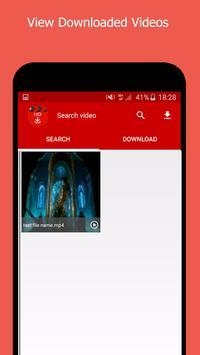 HD Video downloader Full 2017 apk screenshot