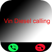 call from Vin Diesel icon