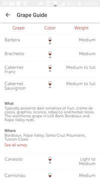 Vinous: Wine Reviews & Ratings apk screenshot