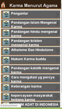 karma menurut agama screenshot 2