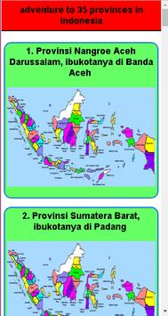 adventure to 35 provinces in indonesia poster