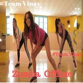 Zumba Dance Exercise Offline-icoon