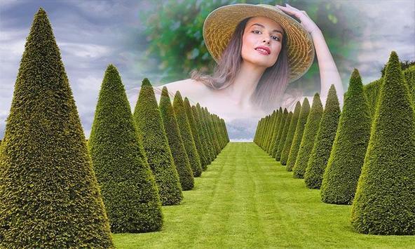 Garden Photo Frame poster