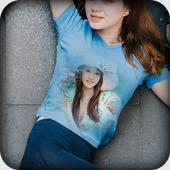 Photo and Name On T Shirt icon