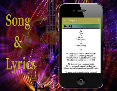Luis Fonsi - Musica y canciones letra apk screenshot
