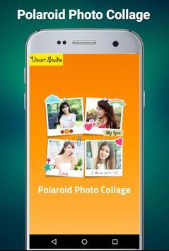 Polaroid Photo Collage poster