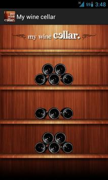 My wine cellar free edition poster