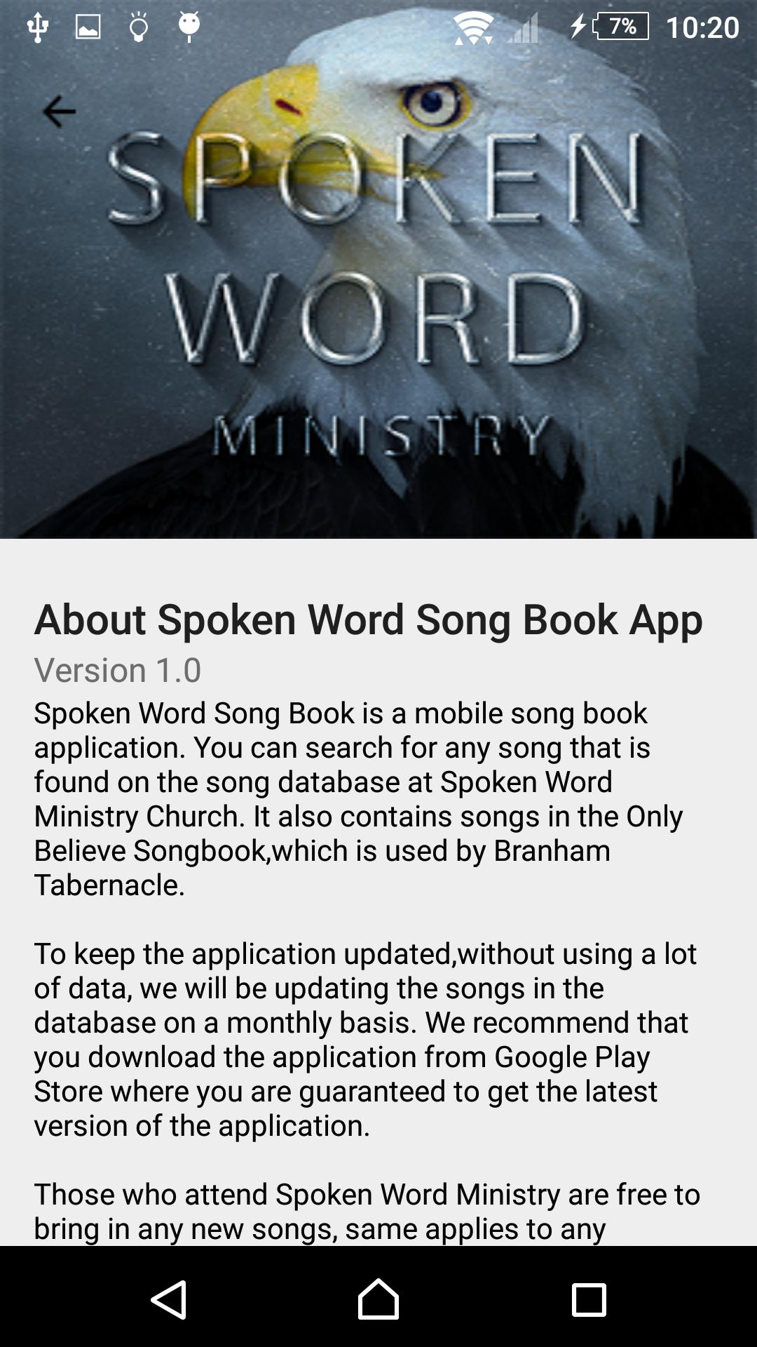 Spoken Word Ministry Song Book for Android - APK Download