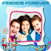 Friendship Photo Editor :  Frame, Sticker, Quotes icon