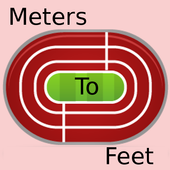 Meters To Feet icon