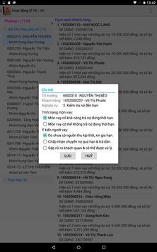 SQLTD - Sổ quản lý tín dụng apk screenshot