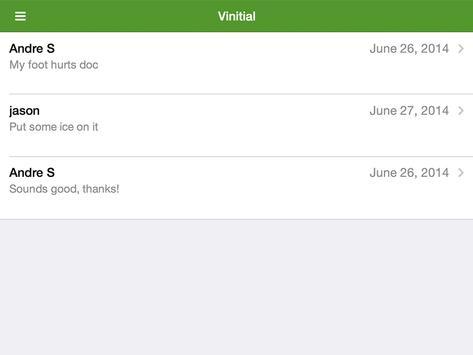 Vinitial apk screenshot