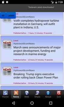 Energy News apk screenshot