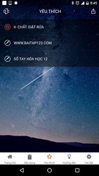 Sổ tay Hoá Học 12 apk screenshot