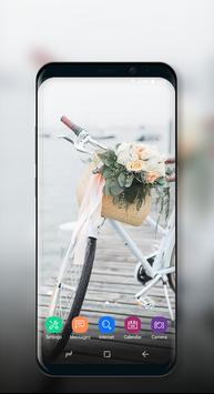 Cute Wallpaper Vintage Floral Bike screenshot 7