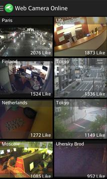 Web Camera Online: CCTV IP Cam Video Surveillance poster