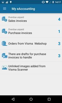 Visma eAccounting apk screenshot