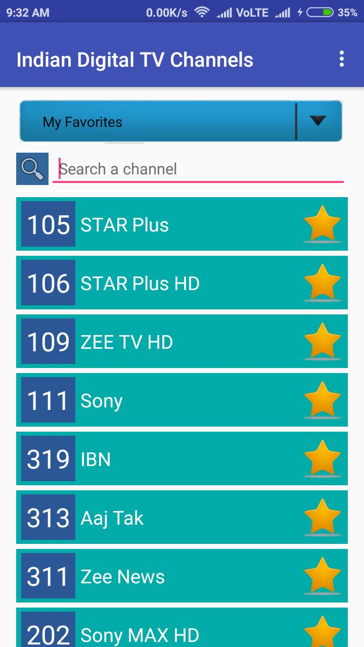 TV Channels (Indian) for Android - APK Download
