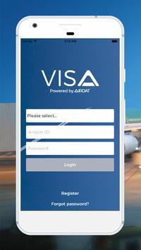 AIRDAT VISA poster