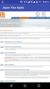 التحقق من التأشيرة عبر الإنترنت screenshot 4
