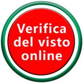 Verifica del visto online icon