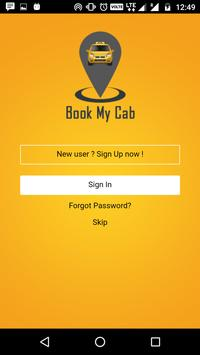 BookMyCab poster