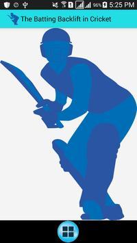 Backlift Cricket Analyser poster