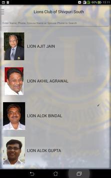 Lions Club of Shivpuri South apk screenshot