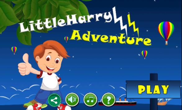Little Harry Adventure poster