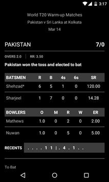 Cricket Scores apk screenshot