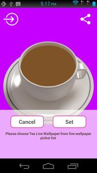 Tea Live Wallpaper apk screenshot