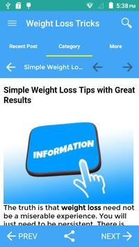 Tricks To Weight Loss screenshot 4