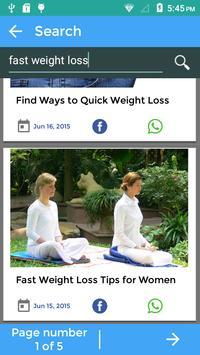 Tricks To Weight Loss screenshot 5