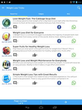 Tricks To Weight Loss screenshot 8