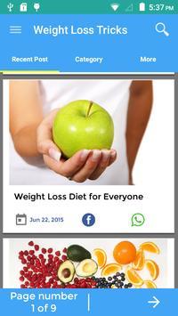 Tricks To Weight Loss screenshot 2