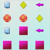 5 years educational games memo icon
