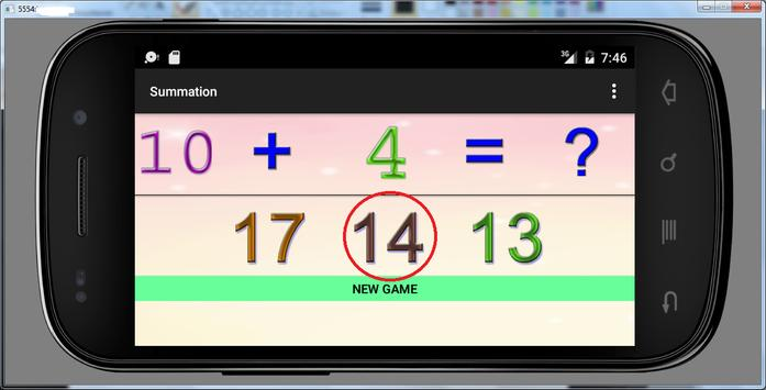 3 years educational games sum screenshot 4