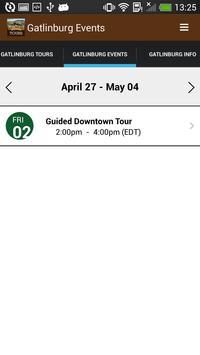 Gatlinburg Tours and Events screenshot 1
