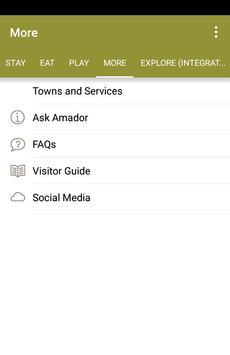 VisitAmador apk screenshot