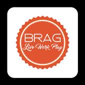 The BRAG App icon