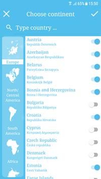 VisitedX - Where have you been? apk screenshot