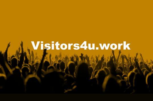 Visitor4u screenshot 1