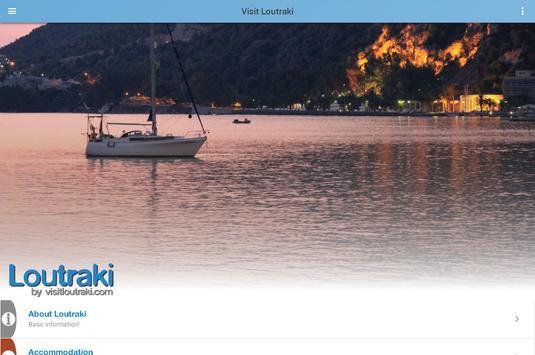 Loutraki by visitloutraki.com (Unreleased) apk screenshot
