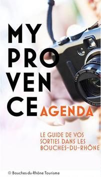 MyProvence Agenda poster