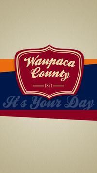 Visit Waupaca County poster