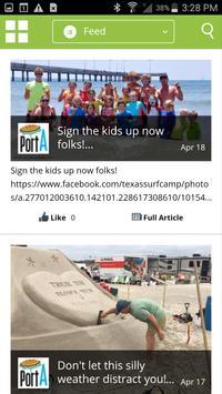 Visit Port Aransas! poster