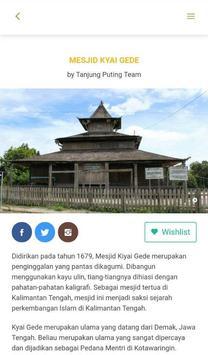 Visit Tanjung Puting apk screenshot