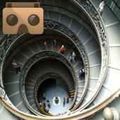 Virtual Tour Google Cardboard icon