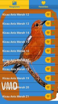 Kicau Anis Merah Master screenshot 1
