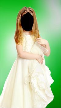 Princess Girl Photo Montage poster